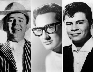 Big Bopper, Buddy Holly, Richie Valens