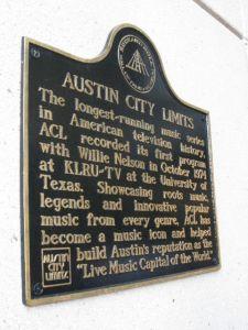 Austin City Limits Sign