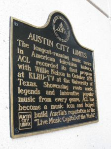 Austin City Limits Sign