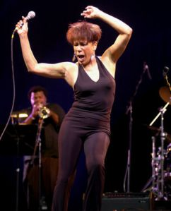 Bettye Lavette on stage