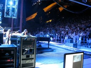 Tom Petty at Red Rocks - Sidestage