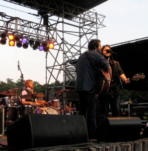 Will Hoge and band on stage