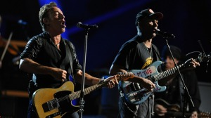 morrello and springsteen live on stage hall of fame