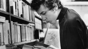 Dylan with books
