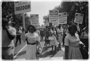 Civil Rights marchers