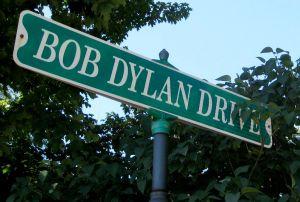 Bob Dylan Drive Street Sign