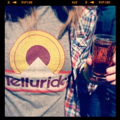 Telluride Beer Shot