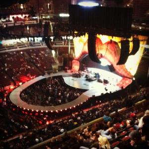 Rolling Stones stage, Chicago